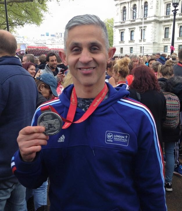 About me-Jason Smith-London Marathon 2015